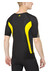 Skins DNAmic Short Sleeve Top Men black/citron
